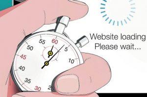 زمان لود شدن سایت