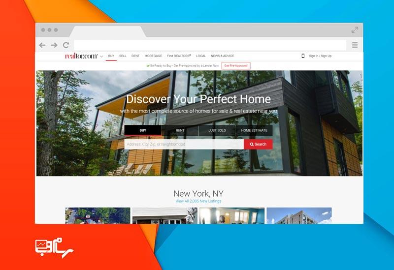 طراحی وب سایت املاک