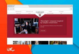 طراحی وب سایت دانشگاهی